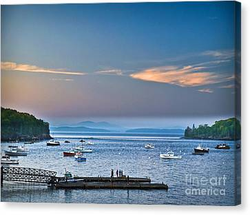 Frenchman's Bay Bar Harbor  Canvas Print by Gary Keesler