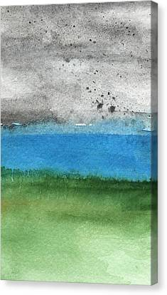 Fresh Air- Landscape Painting Canvas Print by Linda Woods