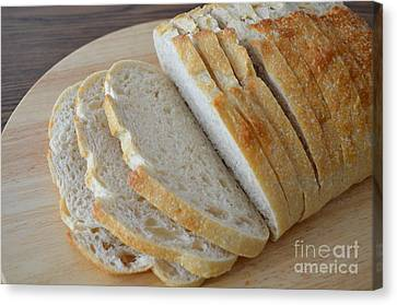 Fresh Baked Sourdough Canvas Print by Mary Deal