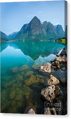Canvas Print featuring the photograph Fresh Breath by Rose-Maries Pictures
