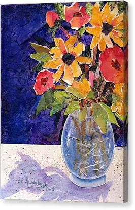 Fresh Flowers Canvas Print