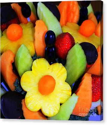 Fresh Fruit Canvas Print by Kathleen Struckle