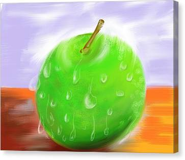 Fresh Fruit Canvas Print by Twinfinger