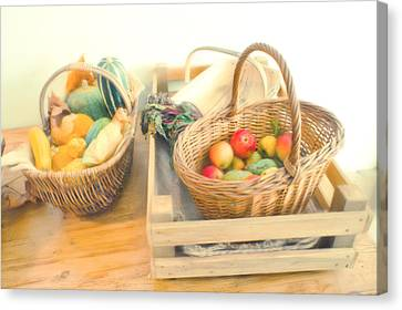 Fresh Harvest Canvas Print by Tom Gowanlock