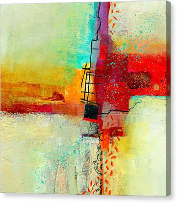 Abstract Canvas Print - Fresh Paint #2 by Jane Davies