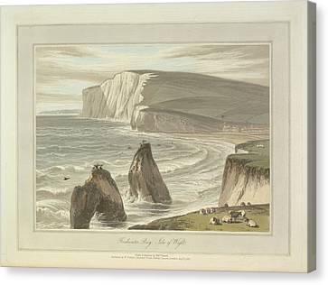 Freshwater Bay Canvas Print by British Library