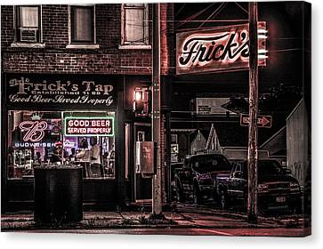 Frick's Tap Canvas Print by Ray Congrove