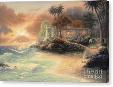 Friday Evening Summer Canvas Print by Chuck Pinson