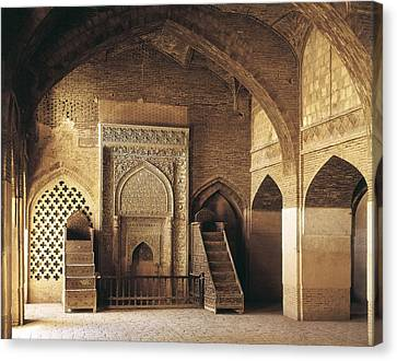 Friday Mosque Masjed-e-jomeh. 1366 Canvas Print by Everett