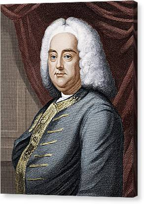 Frideric Handel (1685-1759) Canvas Print