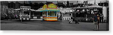 Cheese Canvas Print - Fried Dough by Bob Orsillo