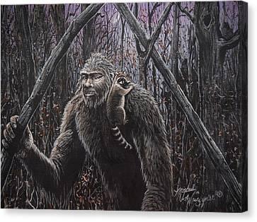 Friend Racoon Canvas Print