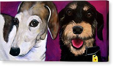 Friends Forever Canvas Print - Friends Forever by Debi Starr