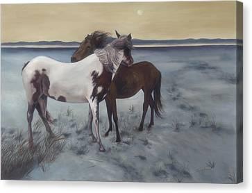 Friends Canvas Print by Glenda Stevens