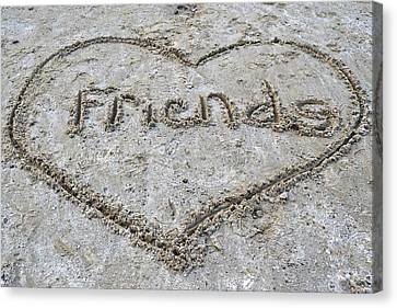 Friends Canvas Print by Frozen in Time Fine Art Photography