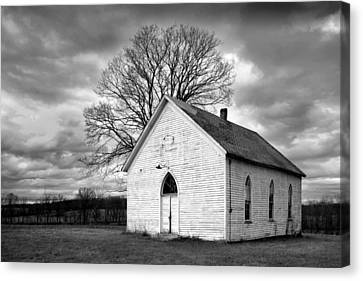 Canvas Print featuring the photograph Friendship Church by Wendell Thompson