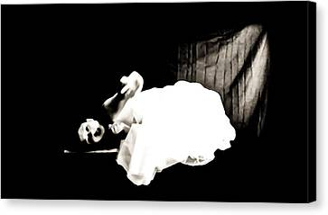Frightened By The Light Canvas Print by Jessica Shelton