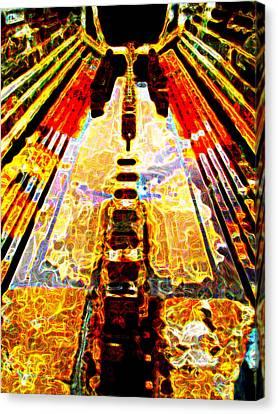 Fritz Lang's Metropolis Yet Stands Canvas Print