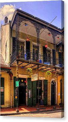 Chrystal Canvas Print - Fritzel's European Jazz Pub New Orleans by Chrystal Mimbs