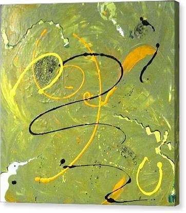 Frivolity Canvas Print by Mary Kay Holladay