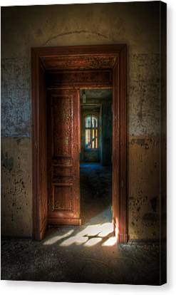 From A Door To A Window Canvas Print by Nathan Wright