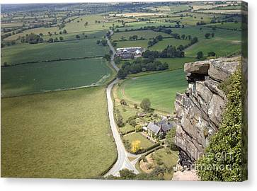 From Beeston Castle Cheshire England Canvas Print
