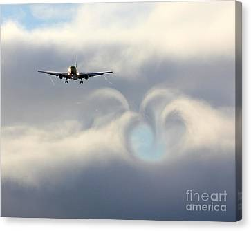 From Boeing With Love Canvas Print by Alex Esguerra
