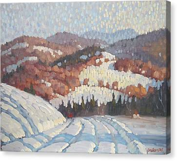 From Partridge Road Canvas Print by Len Stomski