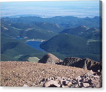 From Pike's Peak Canvas Print