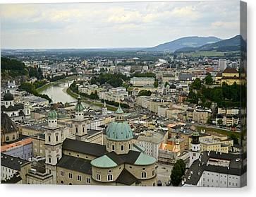 From Salzburg Castle Canvas Print