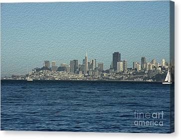 From Sausalito Canvas Print by David Bearden