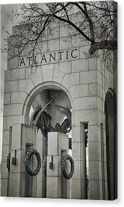 Democracy Canvas Print - From The Atlantic by Joan Carroll