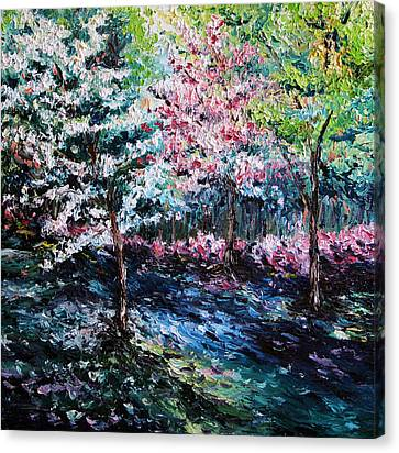 Canvas Print featuring the painting From The Earth by Meaghan Troup