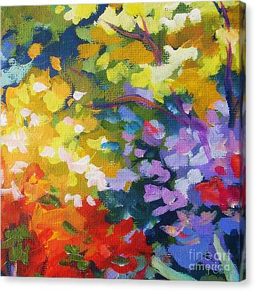From The Garden Canvas Print by John Clark