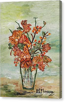 From The Garden Canvas Print by Loredana Messina