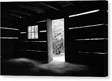 From The Inside Canvas Print by Lawrence Golla