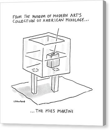 From The Museum Of Modern Art's Collection Canvas Print