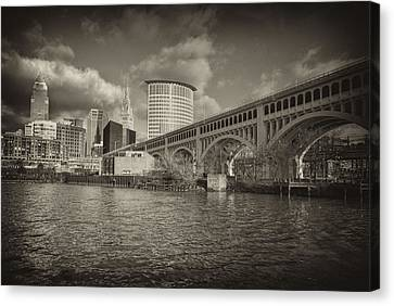 Canvas Print featuring the photograph From The River Bank by Brent Durken