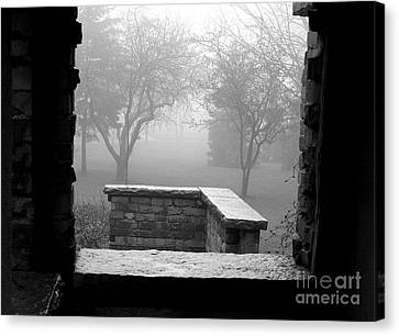 Canvas Print featuring the photograph From The Window by Susan  Dimitrakopoulos
