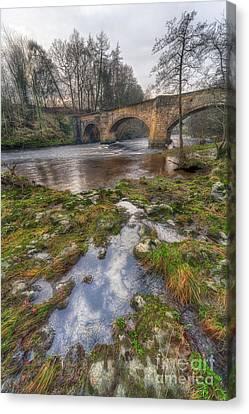 Froncysyllte Bridge Canvas Print by Adrian Evans