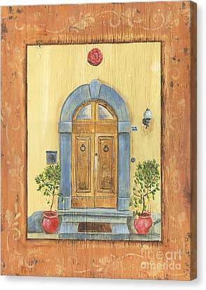 Front Door 1 Canvas Print by Debbie DeWitt