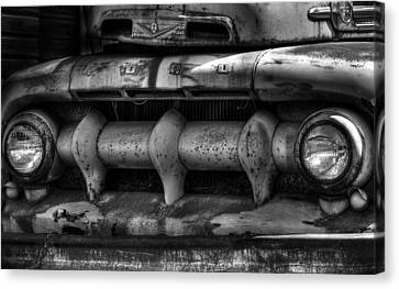 Front Of Fifty Two Ford Canvas Print