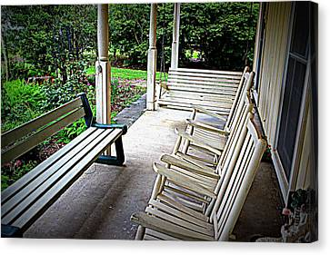 Front Porch Canvas Print by Beth Vincent