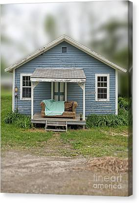 Front Porch Comfort Canvas Print by Edward Fielding