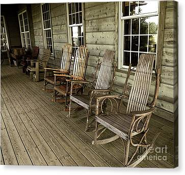 Front Porch Canvas Print