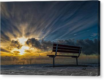 Front Row Canvas Print