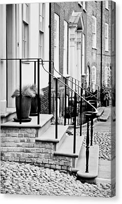 Front Steps Canvas Print by Tom Gowanlock