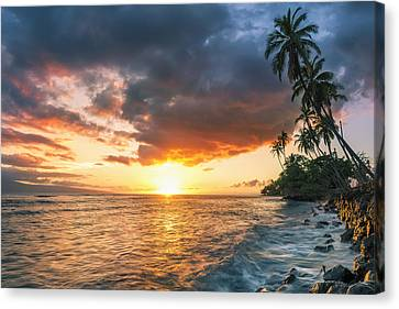 Front Street Lahaina Canvas Print by Hawaii  Fine Art Photography