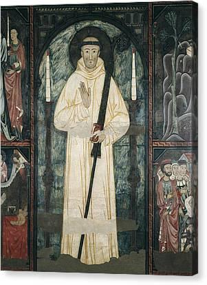 Frontal Of The Altar Of Saint Bernard Canvas Print by Everett