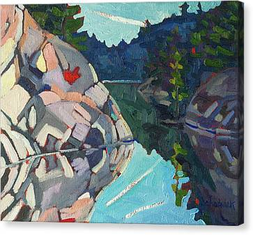 Frood Quartzite Canvas Print by Phil Chadwick